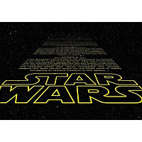 Фотообои KOMAR 368х254 8-487 Star Wars Intro (8 частей) 860359