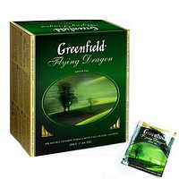 Чай Greenfield Flying Dragon Green Tea, 100 пакетиков