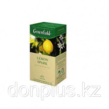 Чай Greenfield Lemon Spark Tea, 25 пакетиков