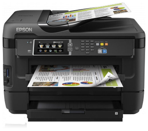 МФУ Epson WorkForce WF-7620DTWF
