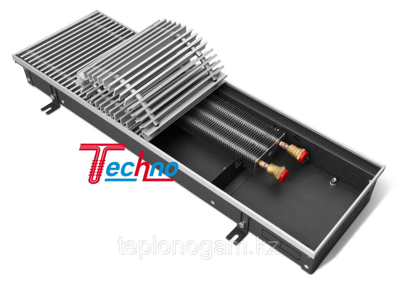 Конвектор внутрипольный (встраиваемый) с естественной конвекцией - Techno Usual KVZ 250-105-2200