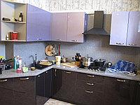 Кухня с синими фасадами, фото 1