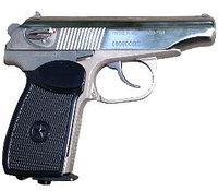 Пистолет пневм. МР-654К-24 белый обн. ручка в коробке, фото 1