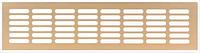 Решетка вентиляционная, алюминий, цвет золото, 500 х 80 мм