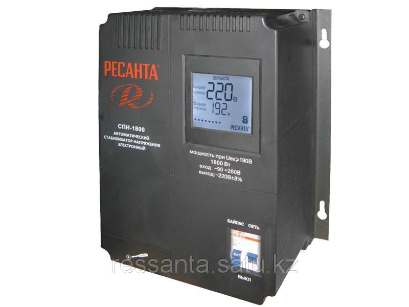 Стабилизатор напряжения Ресанта   СПН-1800 для пониженного напряжения