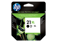 HP Black Inkjet Print Cartridge №21XL for Deskjet, 12 ml, up to 475 pages