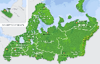 Повагонные отправки запад России - Казахстан