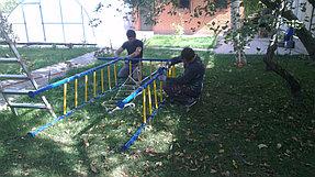 Детский спортивный комплекс уличный Kämpfer Active Game