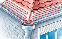 Кабельный обогрев водоотводов и крыш