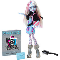 Monster High Abbey Bominable Picture Day. Школа Монстров Эбби на фотосессии