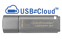 USB Kingston, DT Locker+G3, 16GB