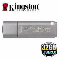 USB Kingston, DT Locker+G3, 32GB