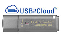USB Kingston, DT Locker+G3, 64GB