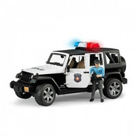 Машинки Bruder Bruder: Jeep Wrangler Unlimited Rubicon Police Car with Policeman