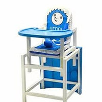 Стул-стол для кормления HEDGY Синий BABYS