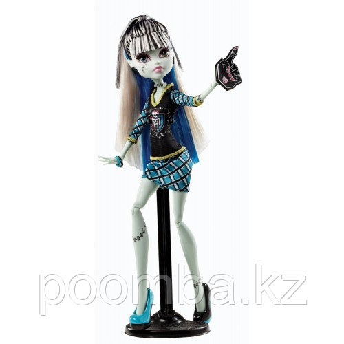 Monster High Frankie Stein Doll Гул спирит - Ghoul Spirit. Школа Монстров Командный дух Фрэнки