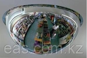 Противокражное купольное обзорное зеркало для наблюдения.