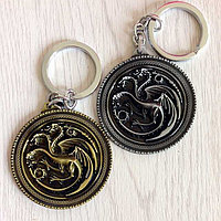 "Брелок из металла ""Игра престолов – Дейенерис Таргариен"" (Game of Thrones – Daenerys Targaryen Metal Keychain), фото 1"