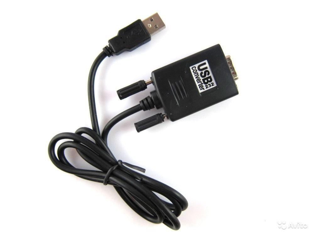 Кабель переходник USB - RS232 DB9 PL2303+MAX3243C