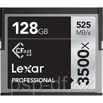 Карта памяти Lexar 128GB Professional 3500x CFast 2.0