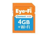 Eyefi 4GB Connect X2 SDHC Wi-Fi Memory Card (Class 6)