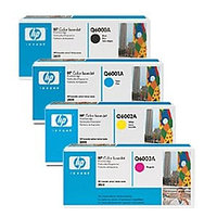 Картридж HP Q6002A/Canon 707  Yellow Cartridge For Color LaserJet 2600n Euro Print Premium
