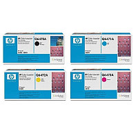 Картридж HP Q6470A/Canon 711 Black Print Cartridge Euro Print Premium