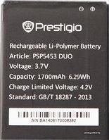 Заводской аккумулятор для Prestigio Multiphone 5453 Duo (PAP5453 Duo, 1700 mah)