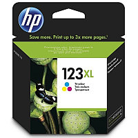 HP 123XL Tri-color Ink Cartridge for MFY DeskJet 2130 up to 330 pages for МФУ HP DeskJet 2130 All-in-One