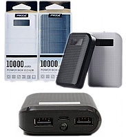 Аккумулятор Remax, PowerBank Power Box Proda, 10000мАч, Black/White