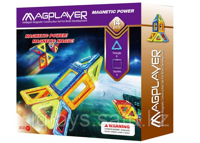 Магнитный конструктор Magplayer 14