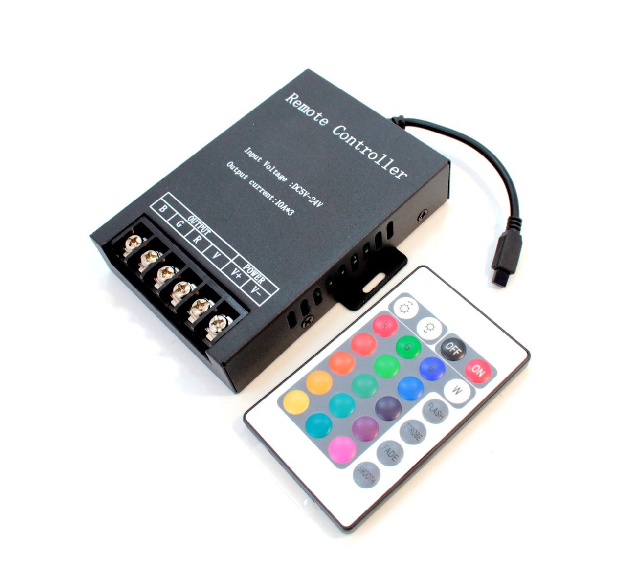 RGB контроллер 360W 12V-M3Q-IR24