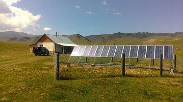 Автономная солнечная станция на 2100 Вт, Алматинская обл. 9