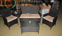 Комплект мебели (софа, 2 кресла и столик) , фото 1