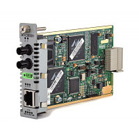 Media Blade 10/100TX to 100FX (ST), 2km Multimode, with 802.3ah Support ECO FRIENDLY