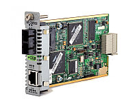 Media Blade 10/100TX to 100FX (SC), 2km Multimode, with 802.3ah Support ECO FRIENDLY