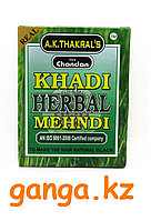 Хна Чёрная КХАДИ (KHADI Sudha Ayurveda Herbal Black Mehndi), 65 г.