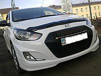 Альтернативная решетка на Hyundai Accent, фото 1