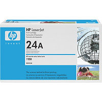 Картридж HP Q2624A Black Print Cartridge for LaserJet 1150, up to 2500 pages. ;