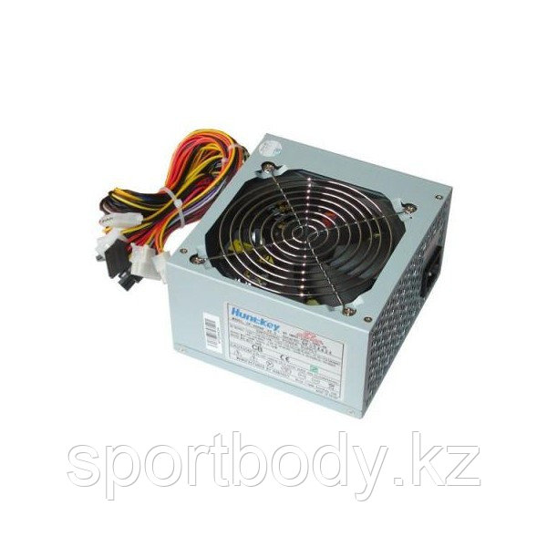 Блок питания Power supply ATX, HuntKey CP-450H, v2.3, 12cm fan, 24pin, 2 SATA, 6pin  - Market Place в Алматы