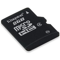 Карта памяти Kingston SDC4/8GBSP microSDHC Memory Card 8Gb Class4 (без адаптера)