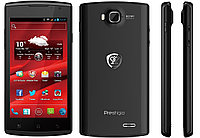 "Сотовый телефон PRESTIGIO MultiPhone 4500 DUO (4.5"",960x540,4GB,Android 4.0,SDHC,Wi-Fi,BT,3G) Black Retail"