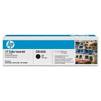 Картридж HP CB540A Black Print Cartridge Toner for Color LaserJet CM1312/CP1215/CP1515n, up to 2200 pages. ;