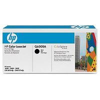 Картридж HP Q6000A Black Print Cartridge for Color LaserJet 1600/2600n/2605, up to 2500 pages. ;