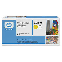 Картридж HP Q6002A Yellow Print Cartridge for Color LaserJet 1600/2600n/2605, up to 2000 pages. ;