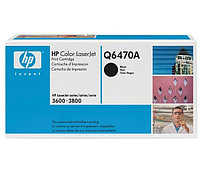 Картридж HP Q6470A Black Print Cartridge for Color LaserJet 3505/3600/3800, up to 6000 pages. ;