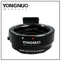 Переходник Yongnuo Smart Adapter EF-E Mount Canon EF EF-S Lens to Sony NEX E-Mount c поддержкой авто фокуса