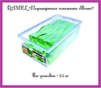 "Мармелад ""Подсахаренные пластинки Яблоко"" (2,1кг. = 1уп.)"