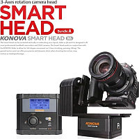 3-осевая голова Konova Smart Head 3-Axes timelapse live shooting
