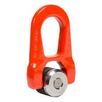 Double articulated weld-on swivel hoist ring WE.DSR
